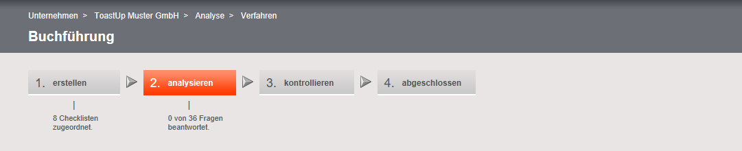 otris privacy - Stand der Bearbeitung