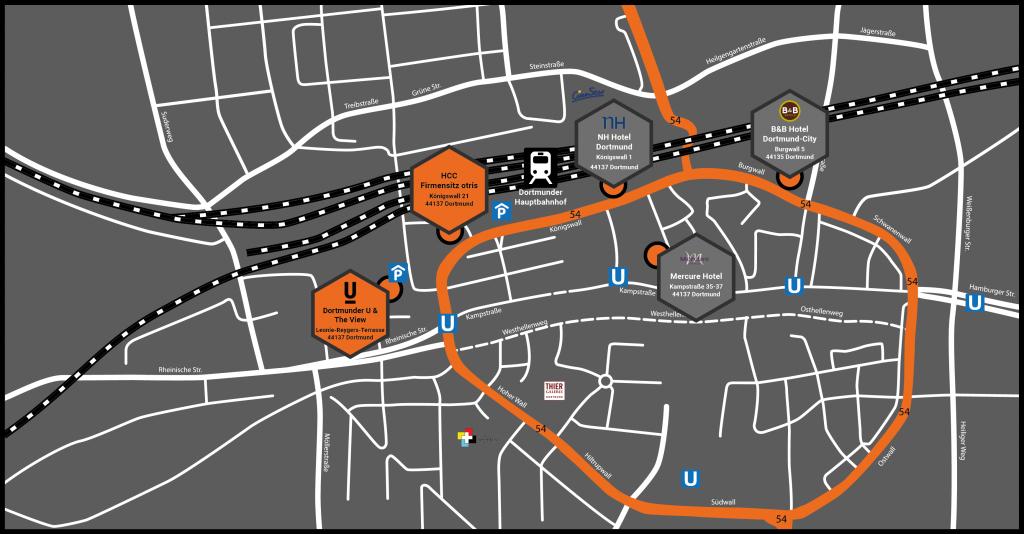 Locationmap - DOCUMENTS-Partner-Konferenz-2018 - otris software AG