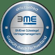 otris contract - BMEnet Gütesiegel Vertragsmanagement
