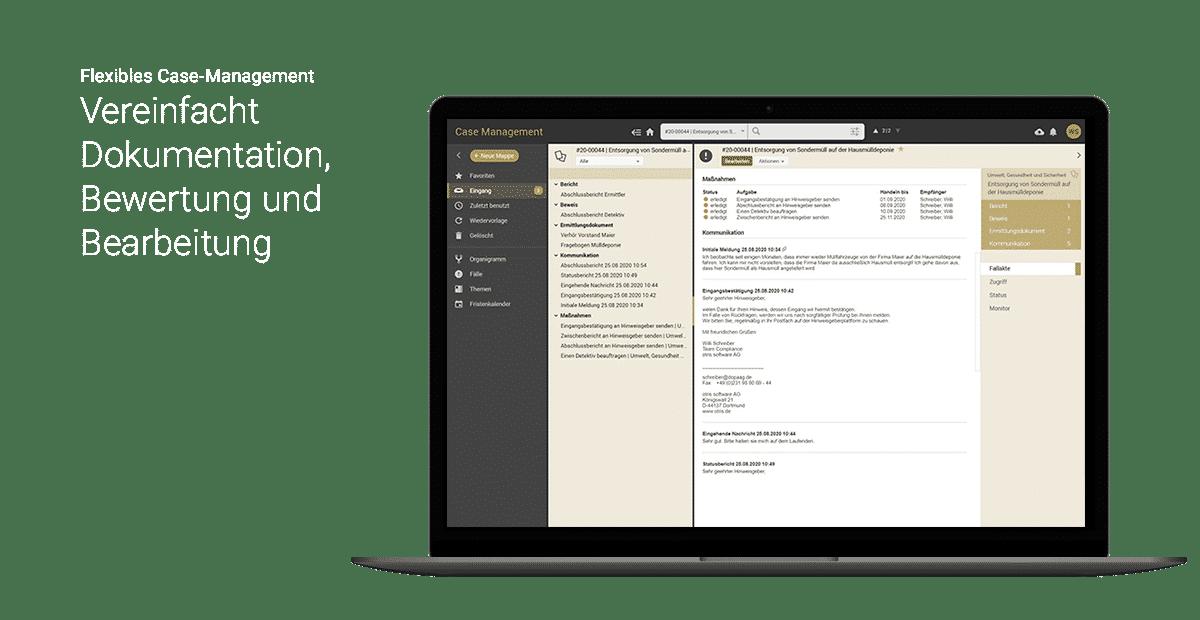 Case Management - otris Hinweisgebersystem